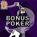 Bonus Poker (52 Hands)